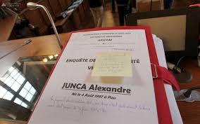 cinquième jour du procès de l affaire alexandre junca devant la