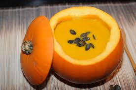 Jamaican Pumpkin Soup Vegan by Supu Ya Malenge Tasty Silky Textured Pumpkin Soup Served