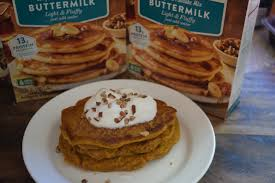 Krusteaz Pumpkin Pancakes by Krusteaz Buttermilk Protein Pancake Mix And Recipe