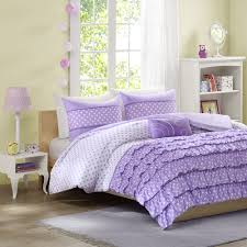 Lush Decor Belle 4 Piece Comforter Set by Bedroom Wonderful Ruffle Comforter For Excellent Bedding Design