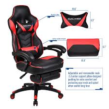 Details About Video Gaming Chair Racing High Back Ergonomic Recliner Office  Desk Seat Footrest Xtrempro G1 22052 Highback Gaming Chair Blackred Details About Ergonomic Racing Gaming Chair High Back Swivel Leather Footrest Office Desk Seat Design Computer Axe Series Blackred Check Out Techni Sport Racer Style Video Purple Shopyourway Topsky Pu Executive Merax 217lx 217w X524h Blue Amazoncom Mooseng New Lumbar Support And Headrest Akracing Masters Premium Highback Carbon Black Energy Pro