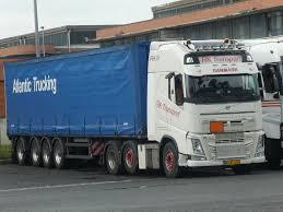 100 Atlantic Trucking RK TRANSPORTDK Volvo FH IVn RK 09 Parking Zaisa I