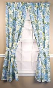 Blue Crushed Voile Curtains by Rod Pocket Curtains Thecurtainshop Com