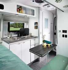 100 Inside An Airstream Trailer S New Trailer Nest Offers Compact Luxury For 45K Curbed