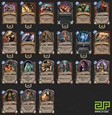 new gvg control warrior deck by gaara 2p com hearthstone