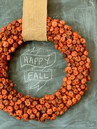 Halloween Pictures For Pumpkins by 8 Diy Fall Wreaths To Dress Up Your Front Door Hgtv U0027s Decorating