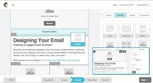 MailChimp Drag And Drop Email Marketing