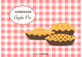 Home Made Apple Pie Vector Background Download Free Vector Art Stock Graphics &