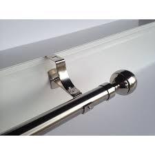 barre a rideau sans percage support de tringle ronde sans perçage pour coffre de volet roulant