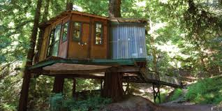 Santa Cruz Ca Christmas Tree Farms by Treehouses Domes U0026 Other Alt Lodging In Northern Ca U2014 The Bold