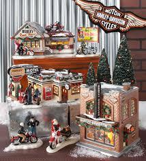 Harley Davidson Crib Bedding by Department 56 Original Snow Village Harley Davidson Collection Www