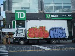 100 Food Delivery Truck Graffiti On Broadway Inwood New York Flickr