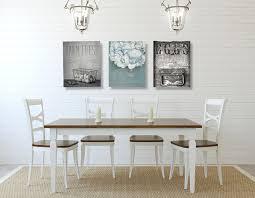 Creative Dining Room Wall Art Farmhouse Decor Set Of Three