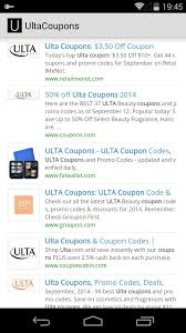 Ulta Coupons For Android - APK Download Ulta Free Shipping On Any Order Today Only 11 15 Tips And Tricks For Saving Money At Business Best 24 Coupons Mall Discounts Your Favorite Retailers Ulta Beauty Coupon Promo Codes November 2019 20 Off Off Your First Amazon Prime Now If You Use A Discover Card Enter The Code Discover20 West Elm Entire Purchase Slickdealsnet 10 Of 40 Haircare Code 747595 Get Coupon Promo Codes Deals Finders This Weekend Instore Printable In Store Retail Grocery 2018 Black Friday Ad Sales Purina Indoor Cat Food Vomiting Usa Swimming Store