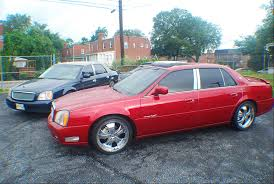 2002 Cadillac Deville With Rims