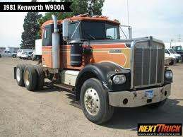 ThrowbackThursday Check Out This 1981 #Kenworth W900A Day Cab! View ...