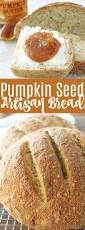 Toasting Pumpkin Seeds In Microwave by Artisan Pumpkin Seed Bread Foodtastic Mom