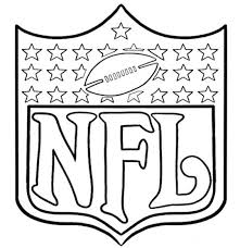 Printable Football Coloring Pages 19 Arms Of NFL Page