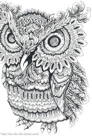 Owl Coloring Pages Colouring Adult Detailed Advanced Printable Colorama Book Enchanted Forest Finished Pictures Of Owls