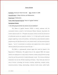 Statement Interest Sample Letter Image Collections How To Write
