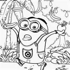 Free Printable Minion Coloring Pages For Kids Sketch Template