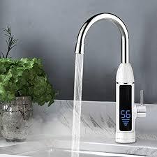 Elektrischer Wasserhahn Durchlauferhitzer Armatur Mischbatterie Elektrischer Wasserhahn Wasserhähne Mit Durchlauferhitzer