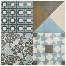 Floor And Decor Houston Area by Blue Ceramic Tile Tile The Home Depot