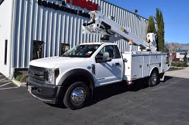 100 Altec Boom Truck 2019 Ford F550 4x4 AT40MH 45 Bucket Big