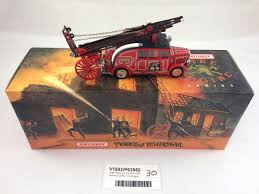 100 Matchbox Fire Trucks Large Die Cast 1936 Leyland Cub FK7 Engine