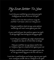 12 Love Letters for Him – Free Sample Example Format Download