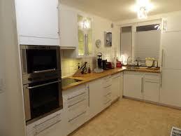 weisse hochglanz küche ikea küchenzeile inkl e geräte