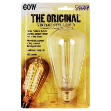 feit 60 watt vintage st19 incandescent light bulb soft white