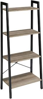 ibuyke standregal bücherregal 60x35 5x148 5 cm 4 ebenen