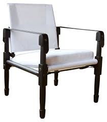 Chatwin Lounge Chair With Canvas Upholstery - Contemporary Mid-Century  Modern Lounge Chairs - Dering Hall