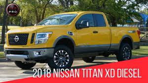 100 Nissan Diesel Truck 2018 Titan XD Pro4X Test Drive YouTube