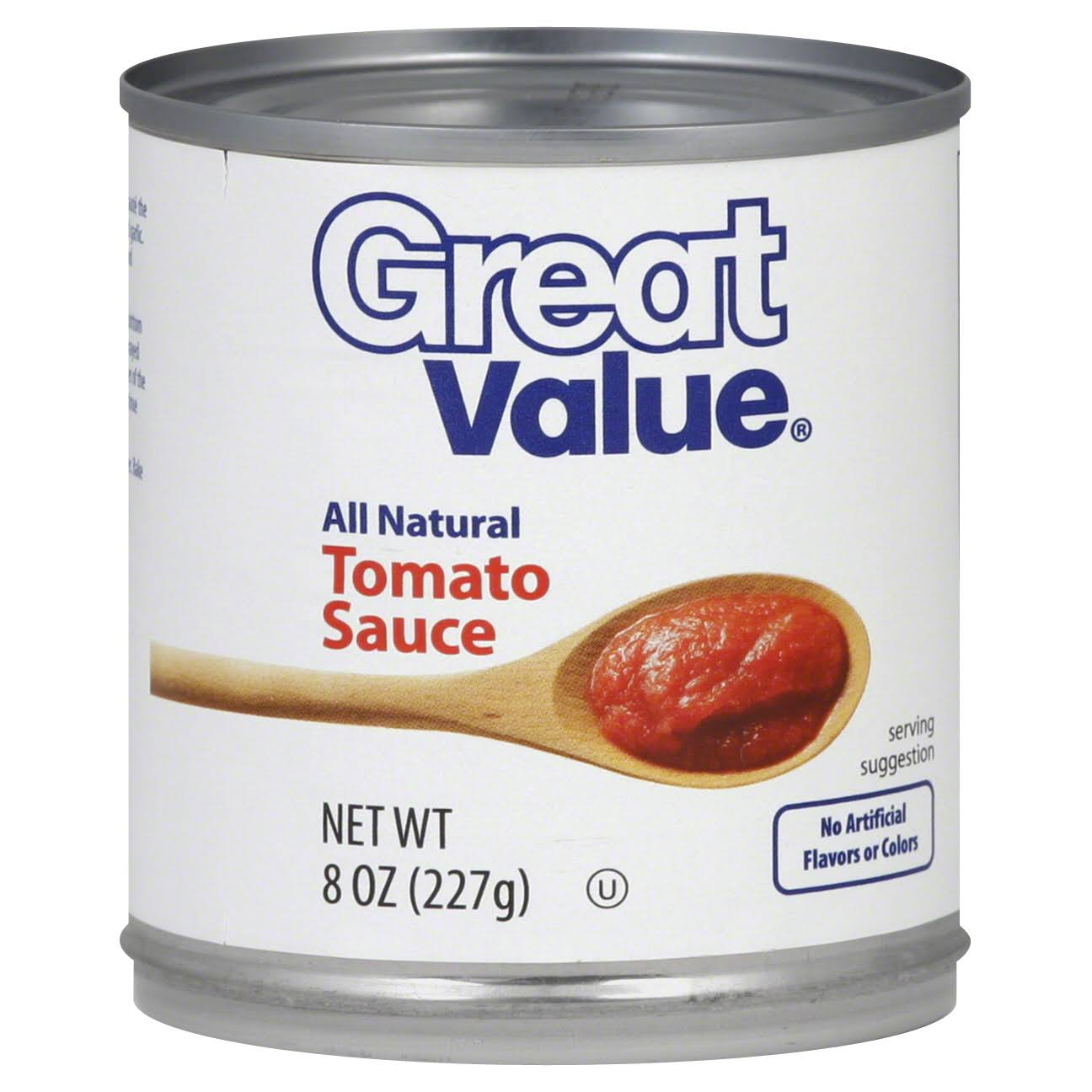 Great Value Tomato Sauce - 8 oz