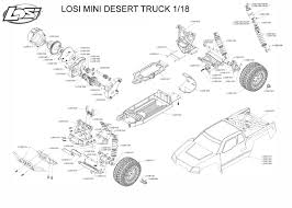 Exploded View: Losi Mini Desert Truck 1:18 - Chassis | Astra Team Losi Minit And Minidesert Truck Wheel Bearing Kit Losi 114 Mini 8ightt 4wd Truggy Rtr Maifield Edition Robs Rc Granite Mega Painted Decaled Trimmed Body Blue Ar402086 Arrma 16 Super Baja Rey Desert Brushless With Avc Black 118 Mini Desert Truck Wextras Wheels Alinum Upgrades Rcnewzcom Los01007 Jethobby Buggy Rizonhobby Losis Pintsized 8ight Db