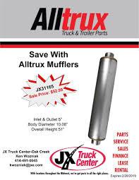 100 Midwest Truck Parts JX Specials