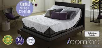 Adjustable Split Queen Bed by America U0027s Mattress America U0027s Mattress Of Northwest Arkansas 479