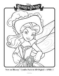 Free The Pirate Fairy Coloring Sheet Barbie Mariposa And Princess Pages Disney Tales