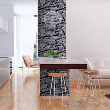 tapete selbstklebend 10m 3d tapete wandtattoo dekorative möbelfolie dekorfolie fotofolie wandaufkleber wandposter wandsticker steinoptik grau