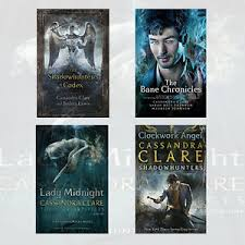 Image Is Loading Cassandra Clare Collection 4 Books Set Lady Midnight
