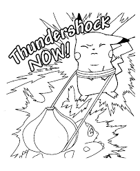 Pokemon Free Coloring Pages