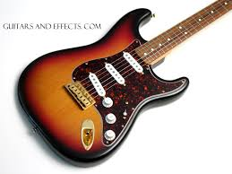 Here Is A Cool Looking SRV Strat That Plays And Sounds Great The Pickguard Has Been Changed To Tortoise Shell Style Back Of Neck Had