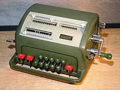calculatrice mécanique wikipédia