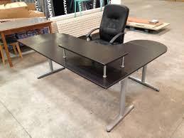 bureau ikea angle ikea bureau angle mobilier de bureau en bois with ikea bureau angle