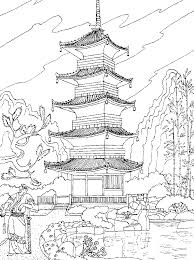 Coloring Pages Landscape Page Free Printable