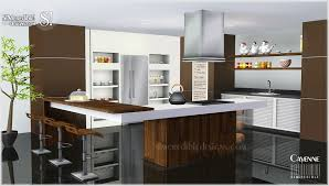 my sims 3 blog cayenne kitchen set by simcredible designs
