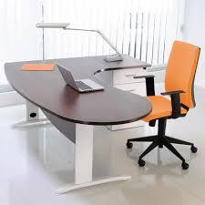 bureau couleur wengé bureau professionnel angle à droite 200x110x72 cm coloris blanc et