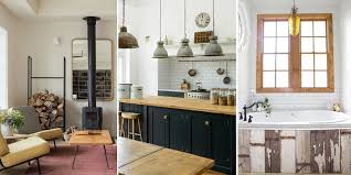 Is Your Style A Little Bit Country Chic Get Decorating Inspiration From These Modern Rustic Kitchens Living Rooms And More